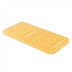 Sur-couvercle jaune