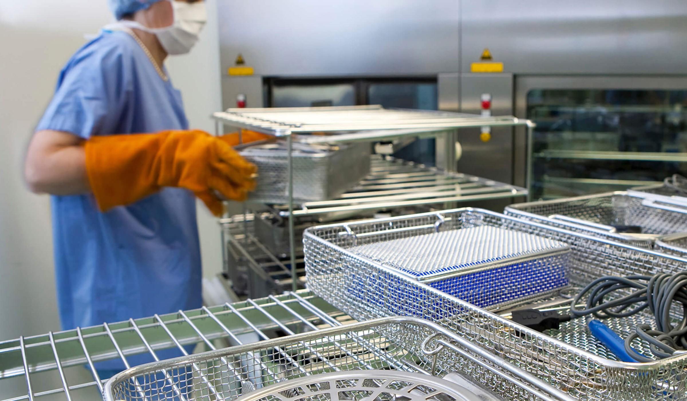 Paniers de stérilisation